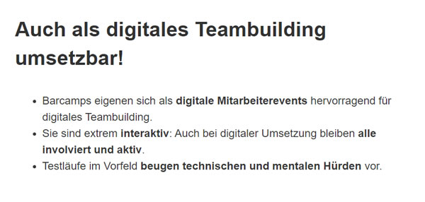 Digitales Teambuilding für  Garbsen